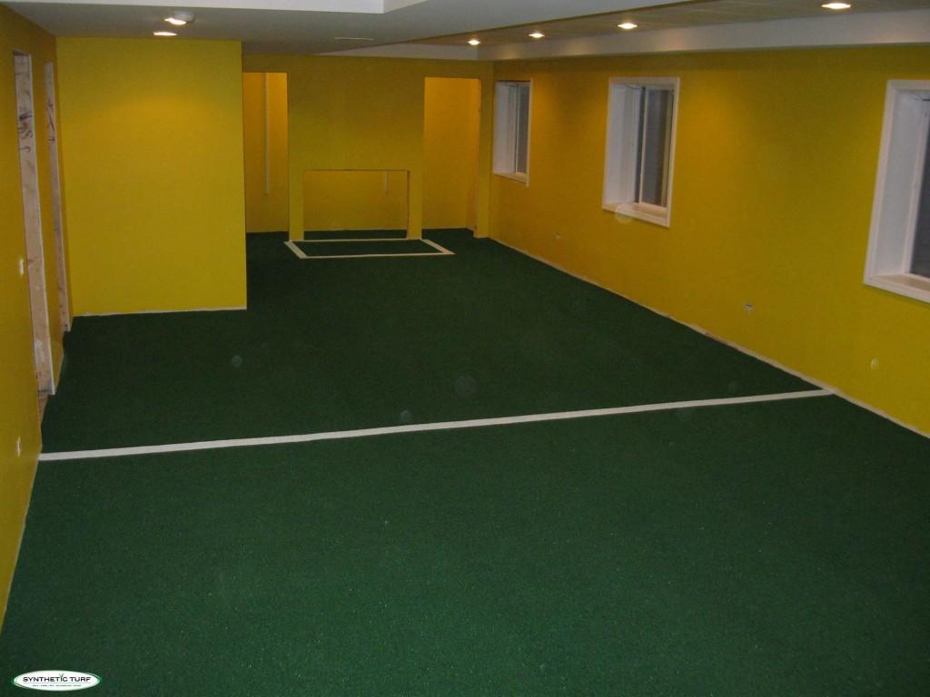 basement soccer field