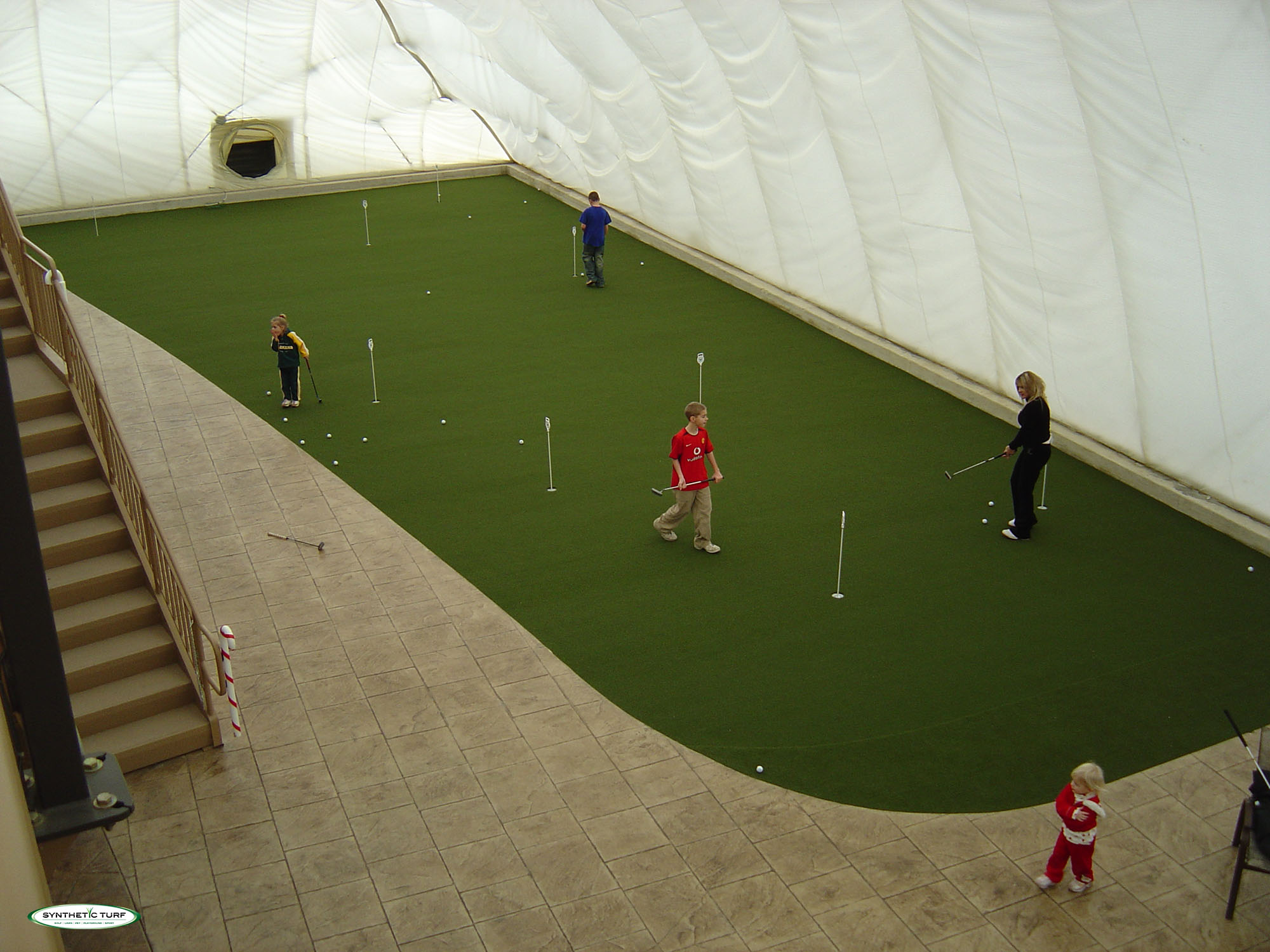 Synthetic Turf Illinois Indoor Putting Green Golf - Chicago ...