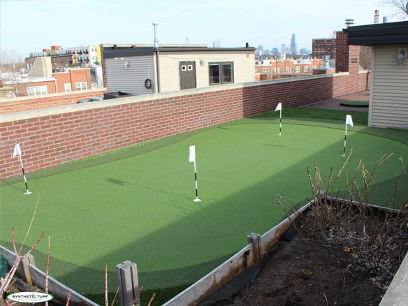 rooftop putting greens